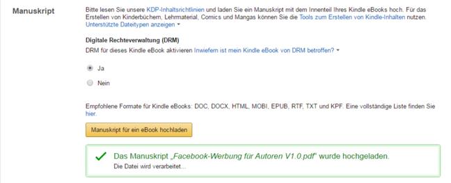 Dein Buch Bei Amazon Verkaufen Amazon Kdp Tutorial