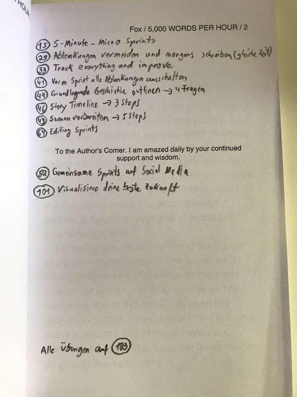 Buch-Notizen aus dem Buch