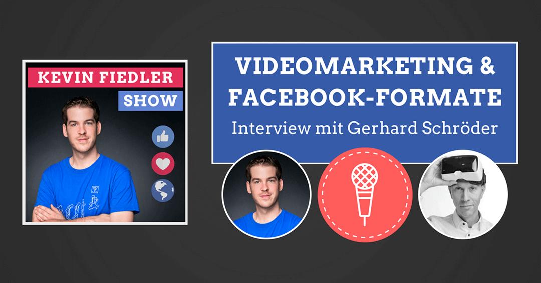 videomarketing neue beitragsformate interview mit gerhard schr der. Black Bedroom Furniture Sets. Home Design Ideas