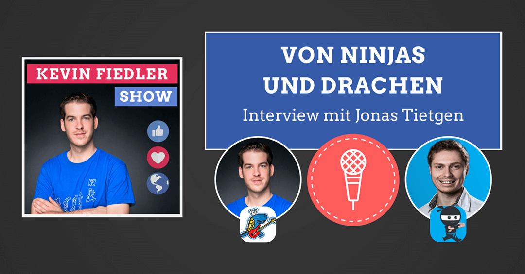 Von Ninjas und Drachen (Zwei spannende Reisen zum Online-Business): Ein Interview mit Jonas Tietgen