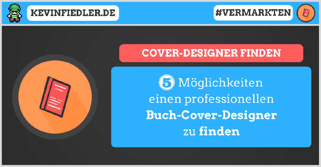 Buchcover Designer finden