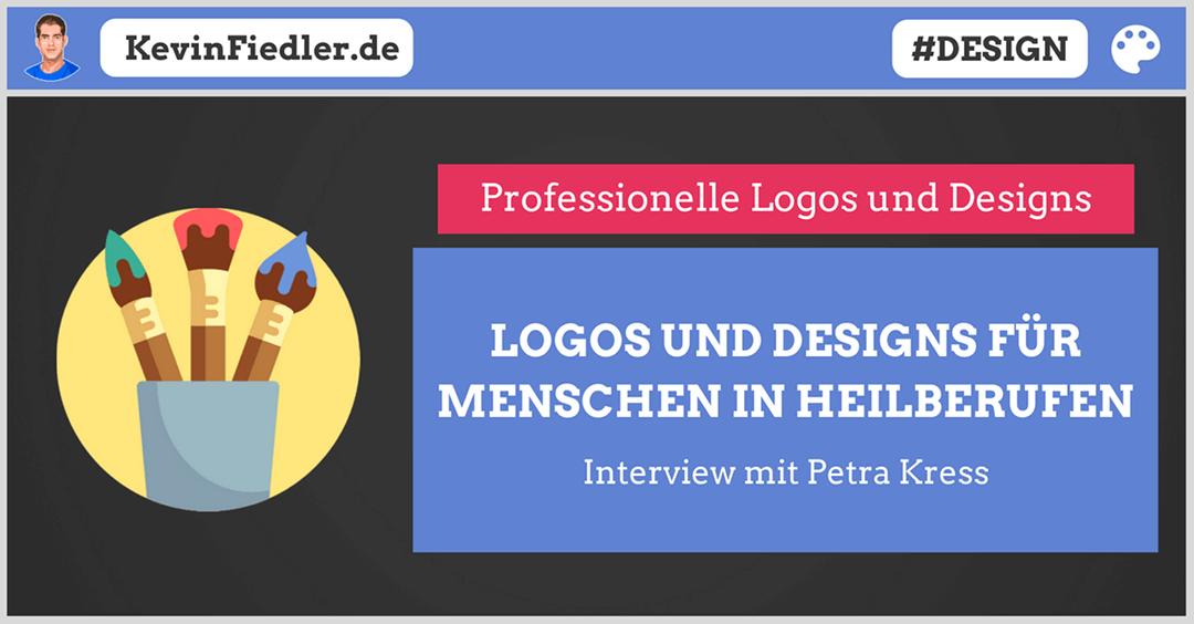 Logo und Design für Heilberufe: Was macht ein gutes Logo aus und was gibt es zu beachten? (Interview mit Petra Kress)