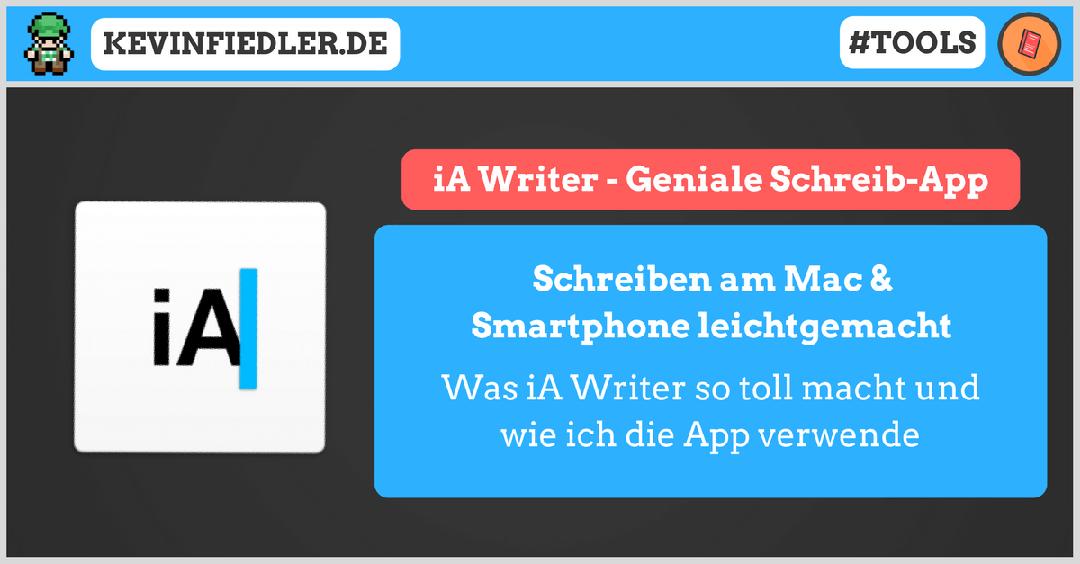 iA Writer – Eine geniale Schreib-App für den Mac und das Smartphone