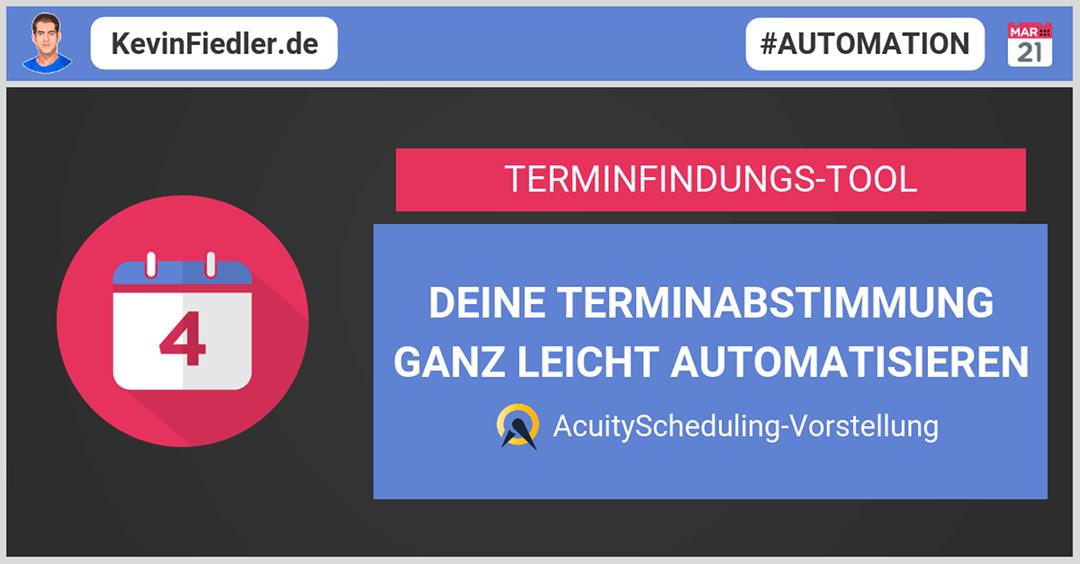 Termine abstimmen leichtgemacht mit AcuityScheduling