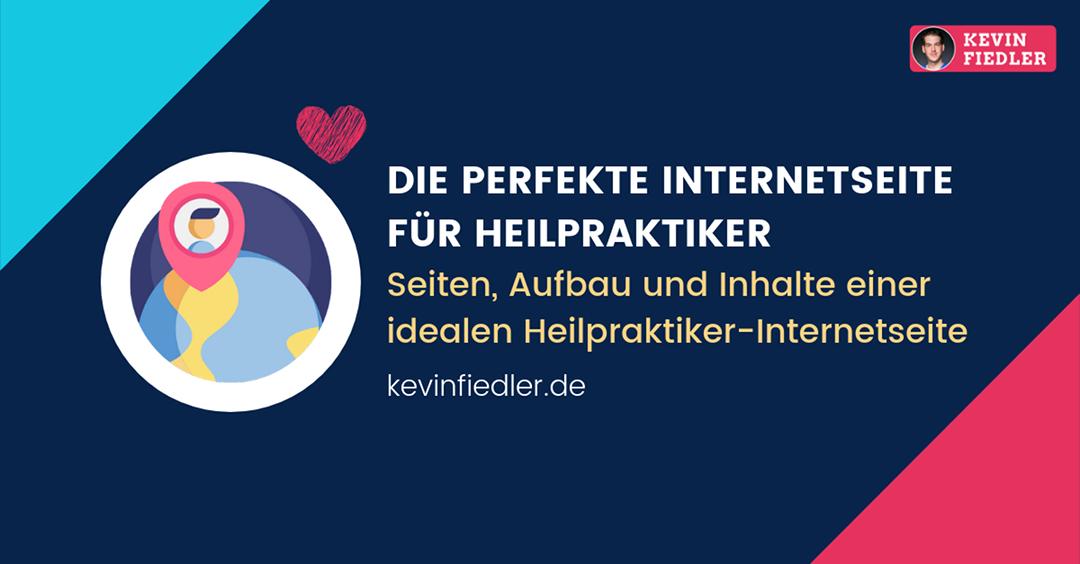 Perfekte Internetseite für Heilpraktiker