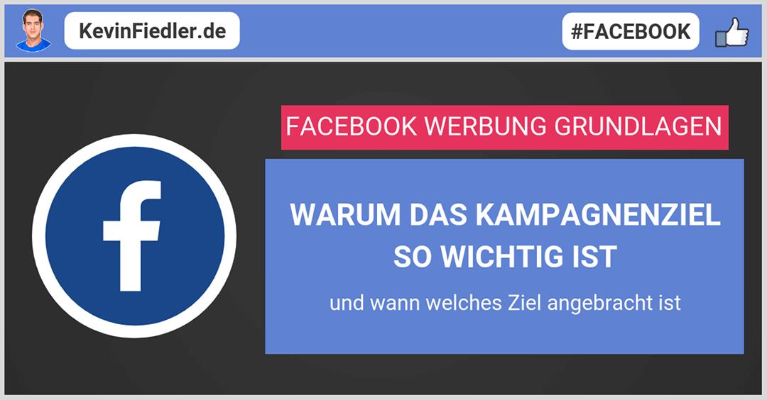 Facebook Werbung Grundlagen
