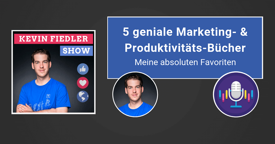 5 geniale Marketing- & Produktivitäts-Bücher | Meine 5 absoluten Favoriten