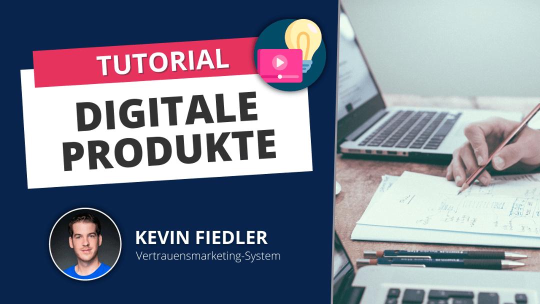 Digitales Produkt Erstellen