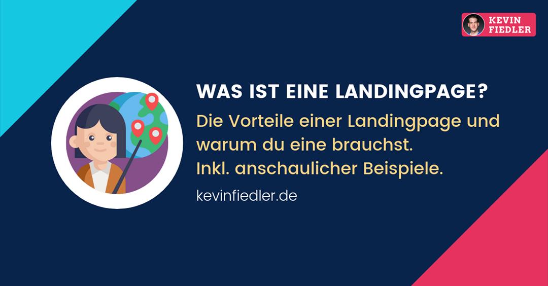 Was ist eine Landingpage und wofür brauche ich sie?
