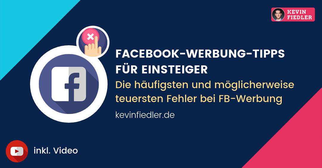 Facebook Werbung Tipps