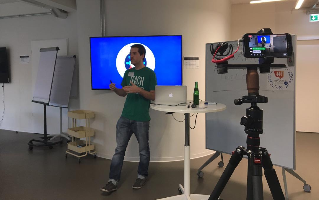 Vortrag Startup Week Ruhr