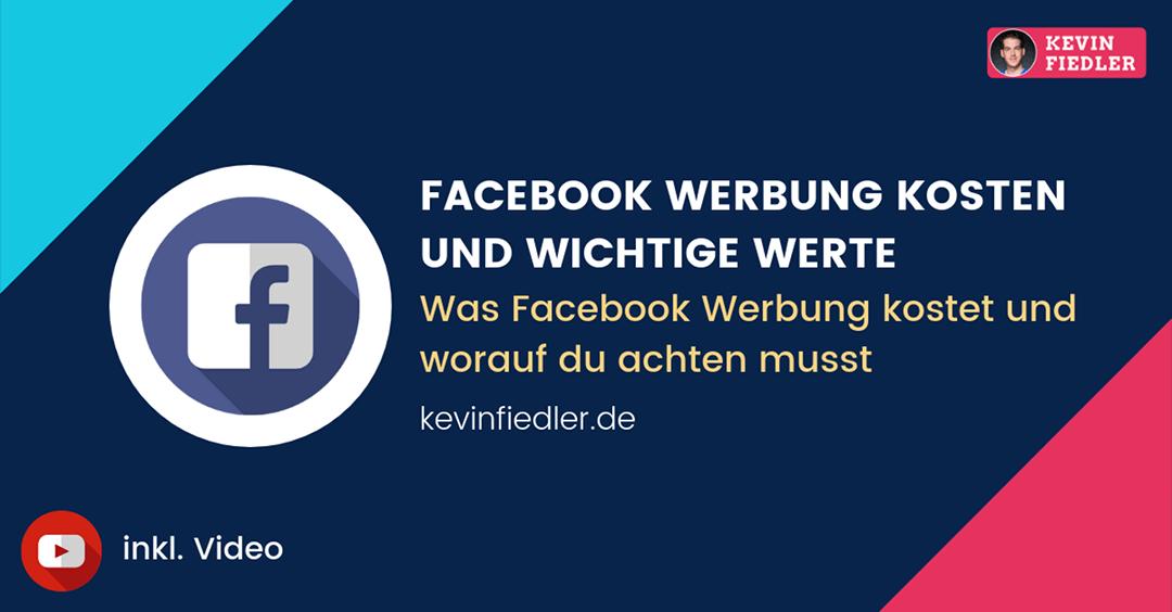 Facebook Werbung Kosten