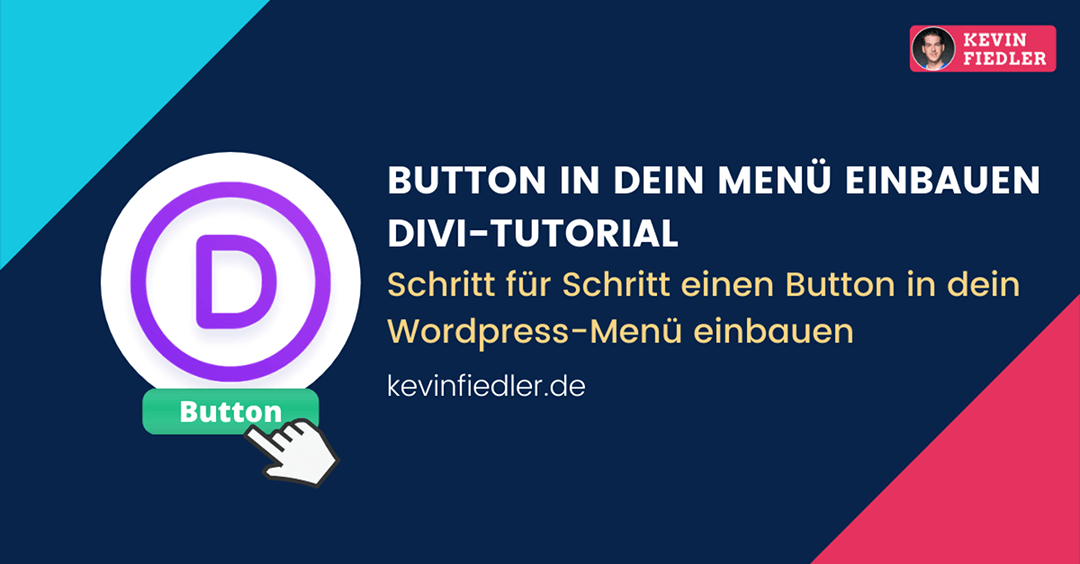 Button in das Menü deiner WordPress Website mit DIVI einbauen | Tutorial
