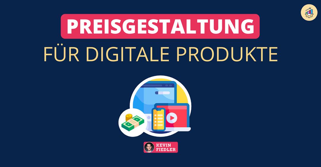 preisgestaltung digitale produkte