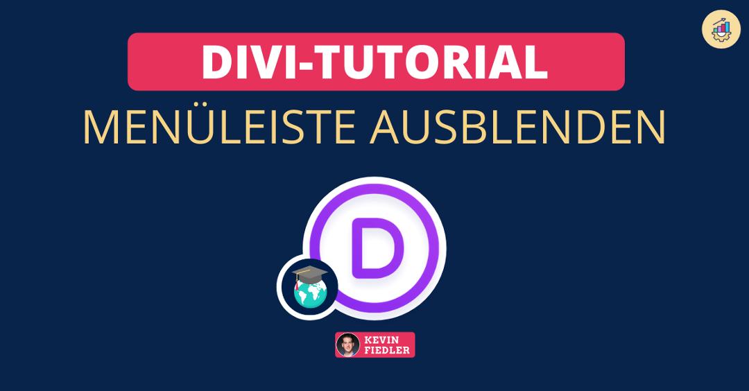 DIVI-Tutorial: Menüleiste ausblenden und Landingpage erstellen