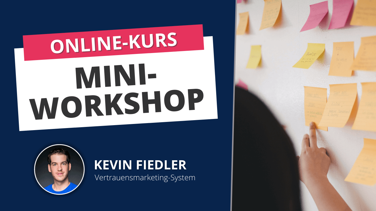 Online Kurs Kevin Fiedler Mini Workshop