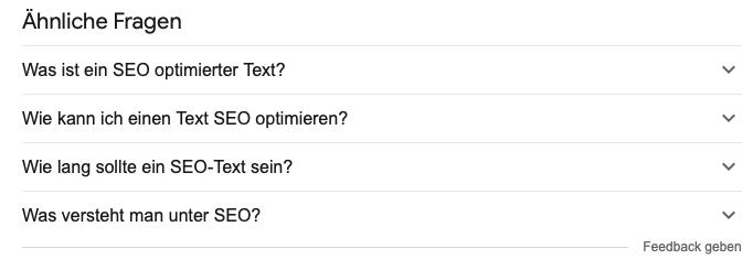 Was sind seo optimierte texte