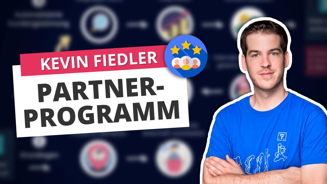 Kevin Fiedler Partnerprogramm