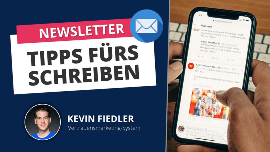Gute Newsletter schreiben