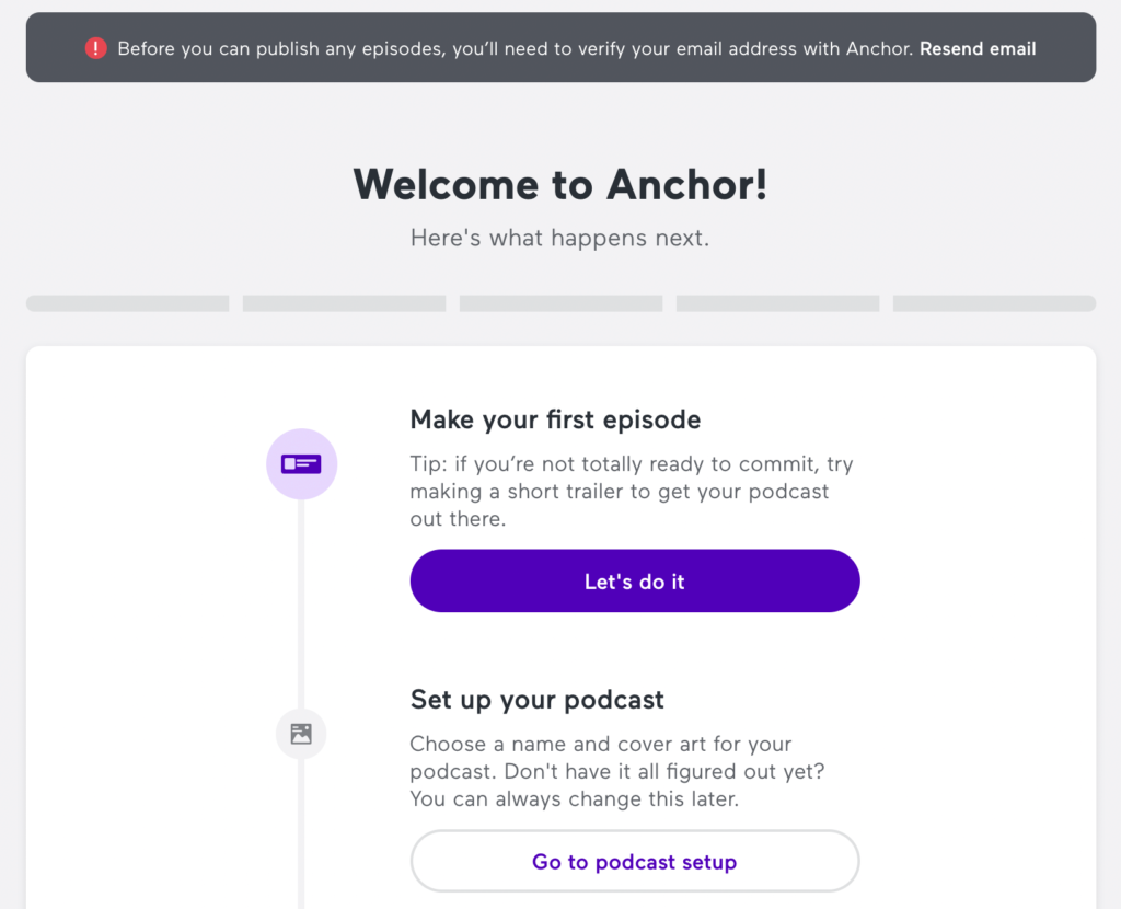 Podcast starten Schritt für Schritt Anleitung